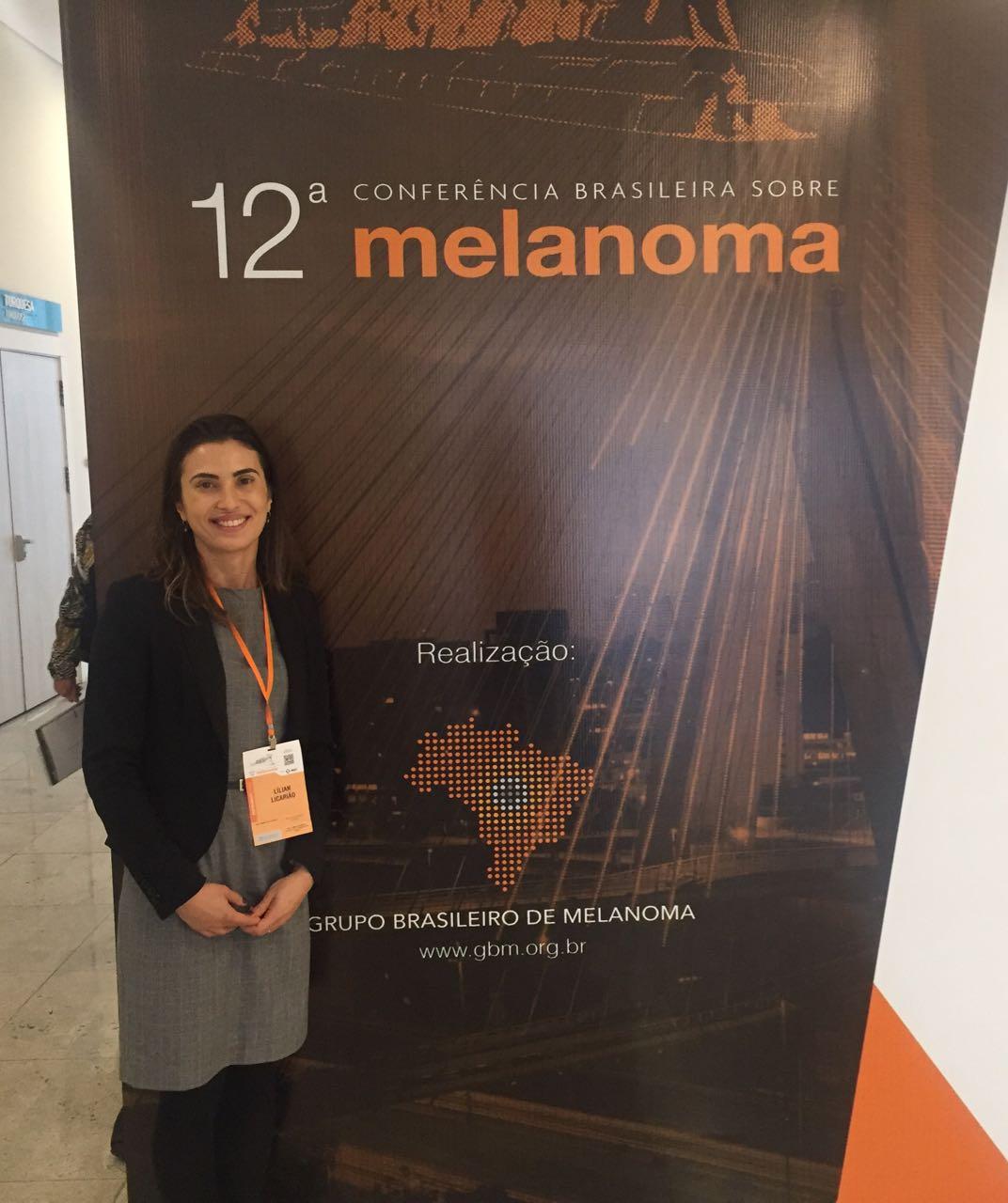 Dra. Lílian Licarião no 12ª Congresso Brasileiro de Melanoma